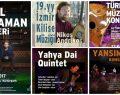 """İzmir'de Kasım ayı """"Güz Konserleri"""""""