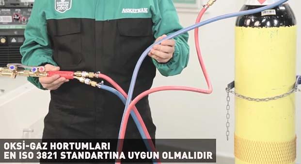 Askaynak, oksi – gaz ekipmanlarının güvenli kullanımıyla ilgili ipuçlarını paylaşıyor