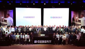 Geberit2017'nin en çok satış yapan bayileri ödüllendirdi