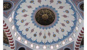 Dünyaca ünlü sanatçılar GEBKİM Camii'ne imza attı