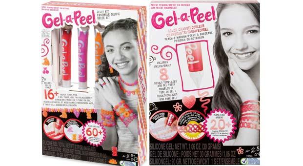 """Tasarlamayı seven yaratıcı kızlar için """"Gel-a-Peel"""" setleri"""