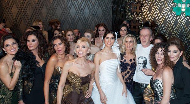 XCLSV koleksiyonu IF Wedding Fashion İzmir fuarında
