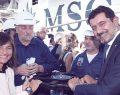 MSC Seaview'in suya indirilişi kutlandı