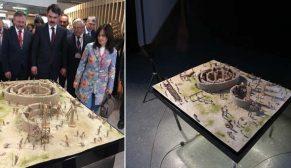 Göbeklitepe'nin maketine Cannes'da büyük ilgi