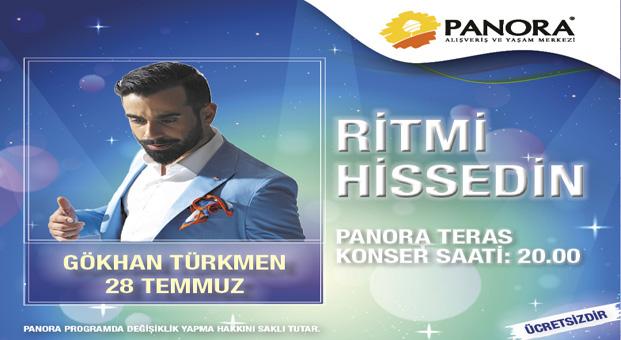 Panora Teras açılışı Gökhan Türkmen konseri ile yapıyor !