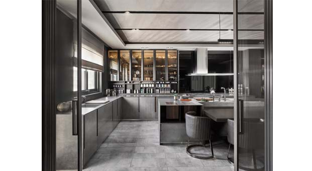 Gönye Tasarım'dan banyo ve mutfaklara sofistike dokunuşlar
