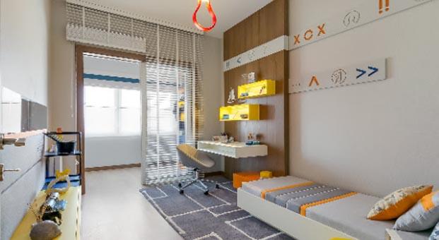 Gönye Proje Tasarım'dan hayal gücüyle kurgulanmış çocuk odaları