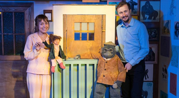 """Akbank Çocuk Tiyatrosu'nun oyunu """"Goril"""" devam ediyor"""