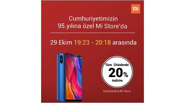 EVOFONE'dan 29 Ekim Cumhuriyet Bayramı'na özel tüm ürünlerde geçerli yüzde 20 indirim