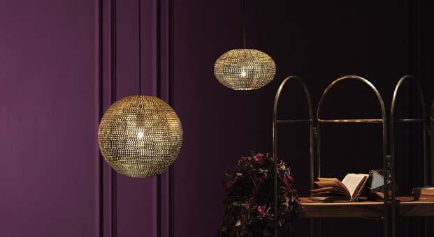 Aydınlatmada metalin göz alıcı dokunuşu:Enza Home Linear Gold Serisi