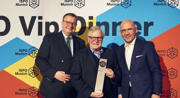 Columbia Sportswear Company Yönetim Kurulu Başkanı Gert Boyle ISPO spor ödülüne layık görüldü