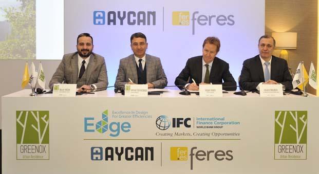 IFC'den Türkiye'nin ilk dikey ormanı Greenox'a 'EDGE' Yeşil Bina Sertifikası