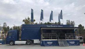 GROHE TIR'ı Türkiye turuna Bodrum'la devam ediyor