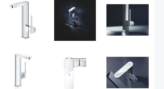 Yeni GROHE Plus Batarya koleksiyonunda dijital hassasiyet ile mimari tasarım buluştu