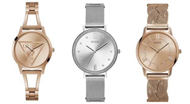 Bu sonbahar Guess Saatleri stilinize eşlik edecek – Sonbahar-Kış 2018-2019