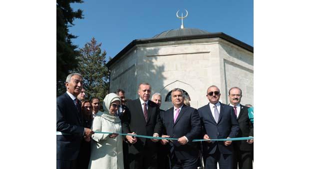 Türk-Macar dostluğunun simgesiGül Baba Türbesi açıldı