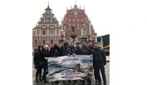 Günsan bayileri Riga'da 2017 yılını değerlendirdi