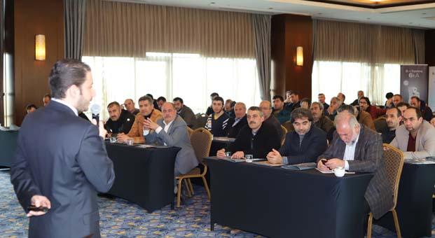 Günsan Elektrik, Erzurumlu iş ortaklarıyla bir araya geldi