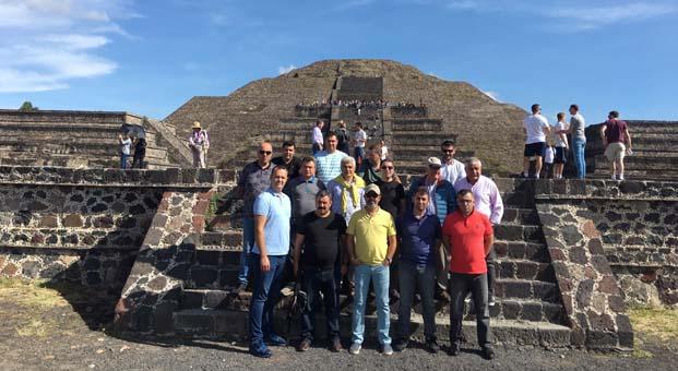 Günsan'ın başarılı iş ortakları Meksika'da bir araya geldi