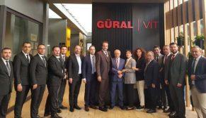 Güral/Vit yeni tasarımlarını dünyaca ünlü İtalya Cersaie Fuarı'nda sergiledi