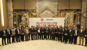 Türkiye Büyük Millet Meclisi, GYODER ve Konsorsiyum Üyelerini plaketle onurlandırdı