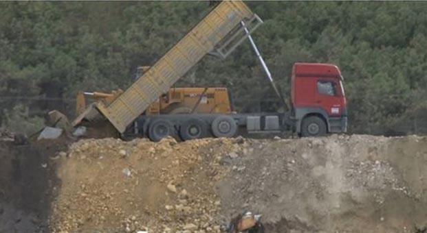 Hafriyat kamyonları terör saçıyor