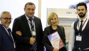 AquaTherm Bakü'den GF Hakan Plastik'e ödül