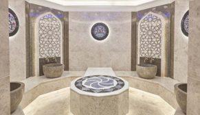 Hamam ve sauna tasarımlarında geleneksel motifler modern çizgiler ile buluşuyor