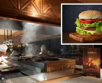 'Elite World Chefs'ten hamburger yapımı atölyesi'