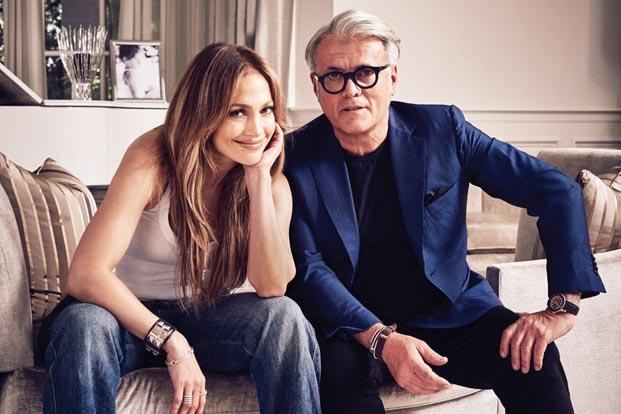 Giuseppe for Jennifer Lopez koleksiyonu şimdi Harvey Nichols'da