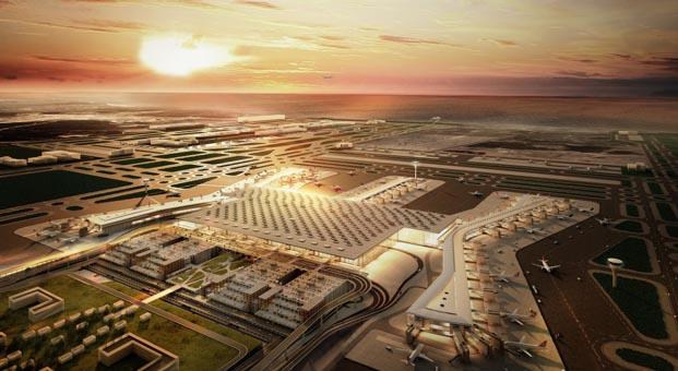 İstanbul Yeni Havalimanı'nın Rengi Polisan Kansai olacak
