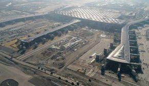 3. havalimanının yüzde 80'i tamamlandı, uçak inebilir