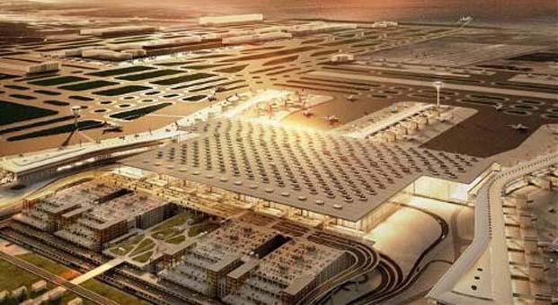 İstanbul'un 3. havalimanı Arnavutköy'de konutları değerlendiriyor