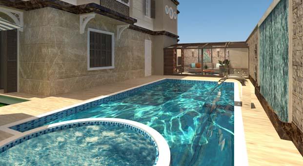 İç mimar Eda Tahmaz'dan havuz ve bahçeler için ilham veren tasarım fikirleri