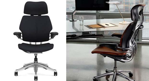 Humanscale'in ergonomik Freedom Headrest ofis koltukları şimdi Ateco Zemin'de