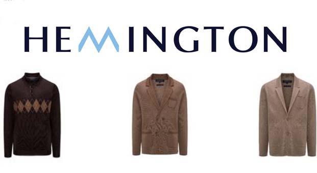 Hemington saf kaliteyi güçlü ve modern bir çizgiyle buluşturuyor