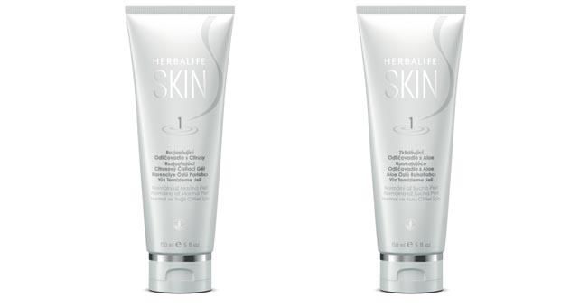 Cildinizi Herbalife Skin Yüz Temizleme jelleriyle canlandırın