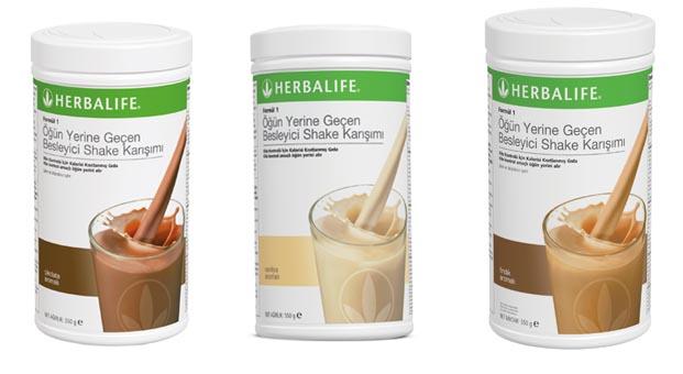 Herbalif Formül 1 Shake ile yaza hazırlanın