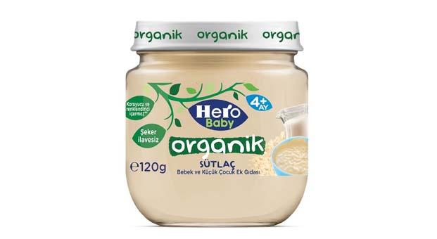 Bebekler için Türkiye'nin ilk ve tek şeker ilavesiz organik sütlacı