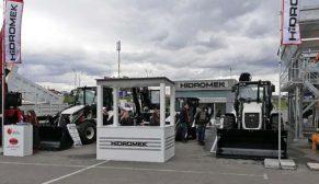 Hidromek ürünlerinin Rusya'da sergiledi