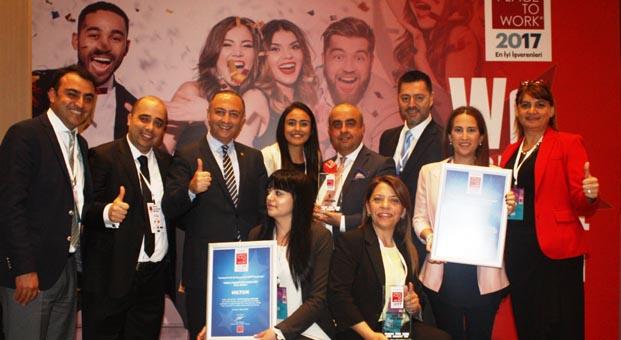 Hilton üst üste ikinci kez 'Türkiye'nin En İyi İşvereni' seçildi