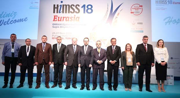 HIMSS'18 Eurasia Sağlık Bilişimi profesyonellerinin katılı ile açıldı