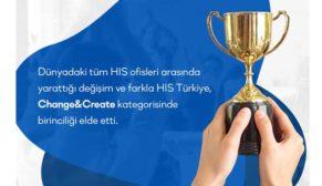 HIS Türkiye'nin ofisine ödül