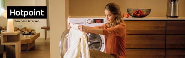 Çamaşır makinesinde en iyi performans ve en uygun fiyat Hotpoint'ten