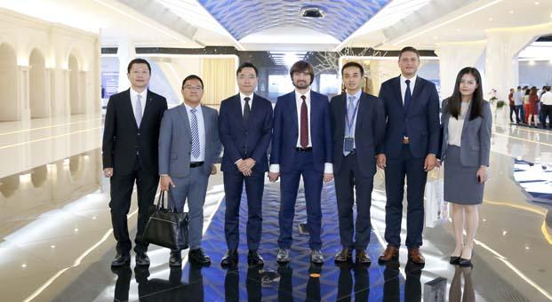 Türkiye AFAD Heyeti Çin'de HUAWEI Ar-Ge merkezini siyaret etti