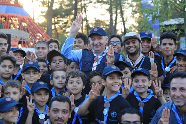 """Türkiye dışından 16 ayrı ülkeden izcilerin de katıldığı """"Uluslararası İzci Kampı"""" gerçekleştirildi"""