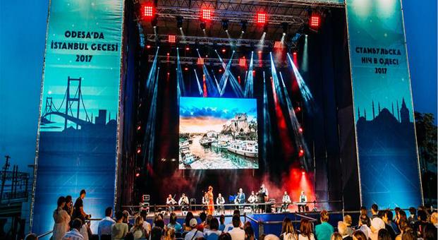 """Odessa'da """"İstanbul Gecesi"""" büyük ilgi gördü"""