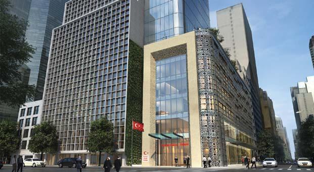 New York'taki yeni Türkevi binasıIC İçtaş İnşaat tarafından yapılacak