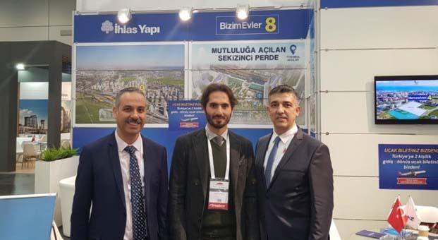 Evim Türkiye Gayrimenkul ve Yatırım Fuarı yoğun ilgi gördü