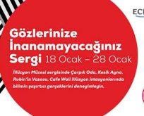 Şaşırtan ve eğlendiren illüzyon sergisi Marmara Park AVM'de